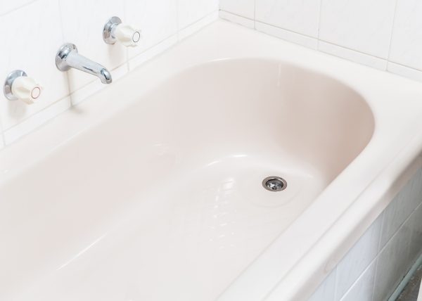 Almond Ivory Bath Reline