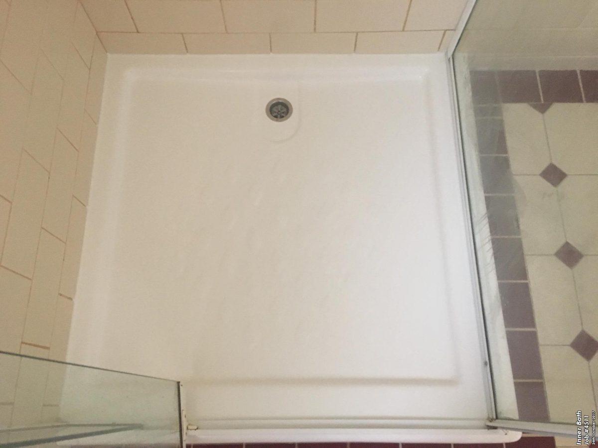 Cracked Shower Base