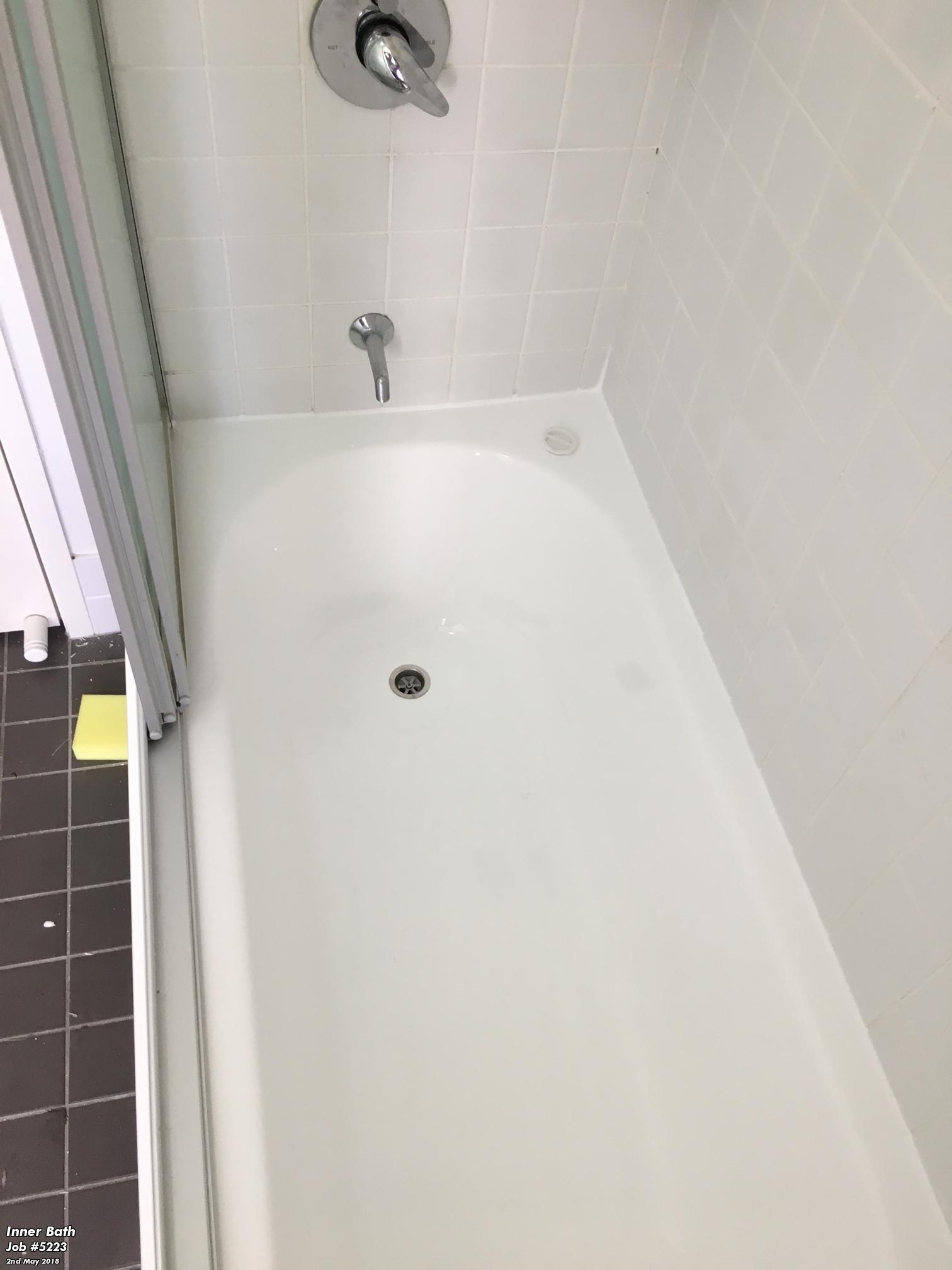 Cracked Bath After