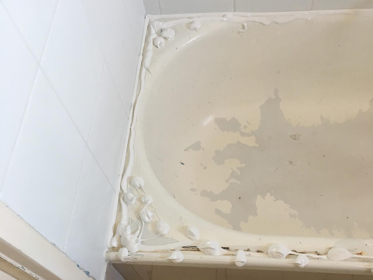 Huntly Victoria Bath Repair with Screen
