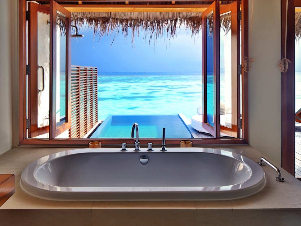 Luxury hotel bathrooms from around the world.